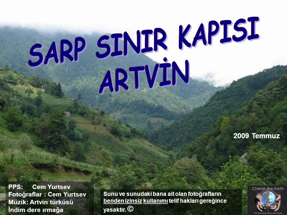 SARP SINIR KAPISI ARTVİN