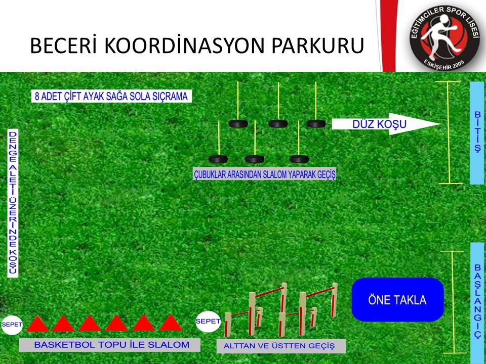 BECERİ KOORDİNASYON PARKURU
