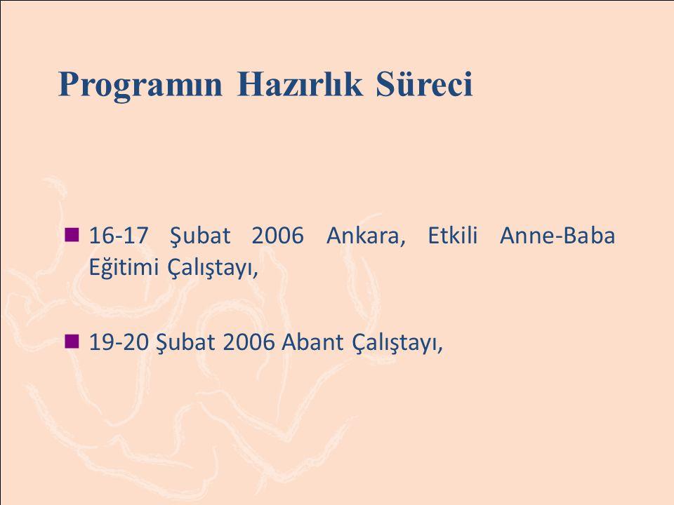 Programın Hazırlık Süreci