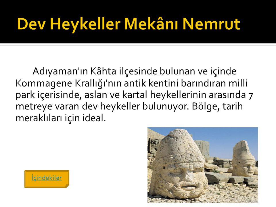 Dev Heykeller Mekânı Nemrut