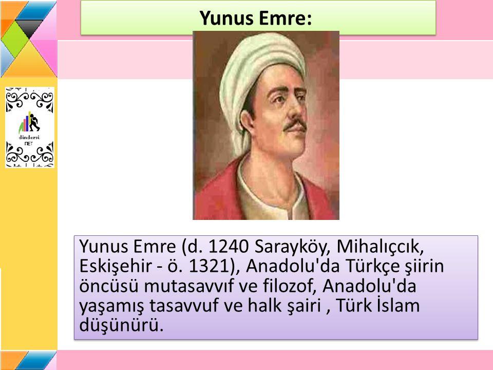 Yunus Emre: