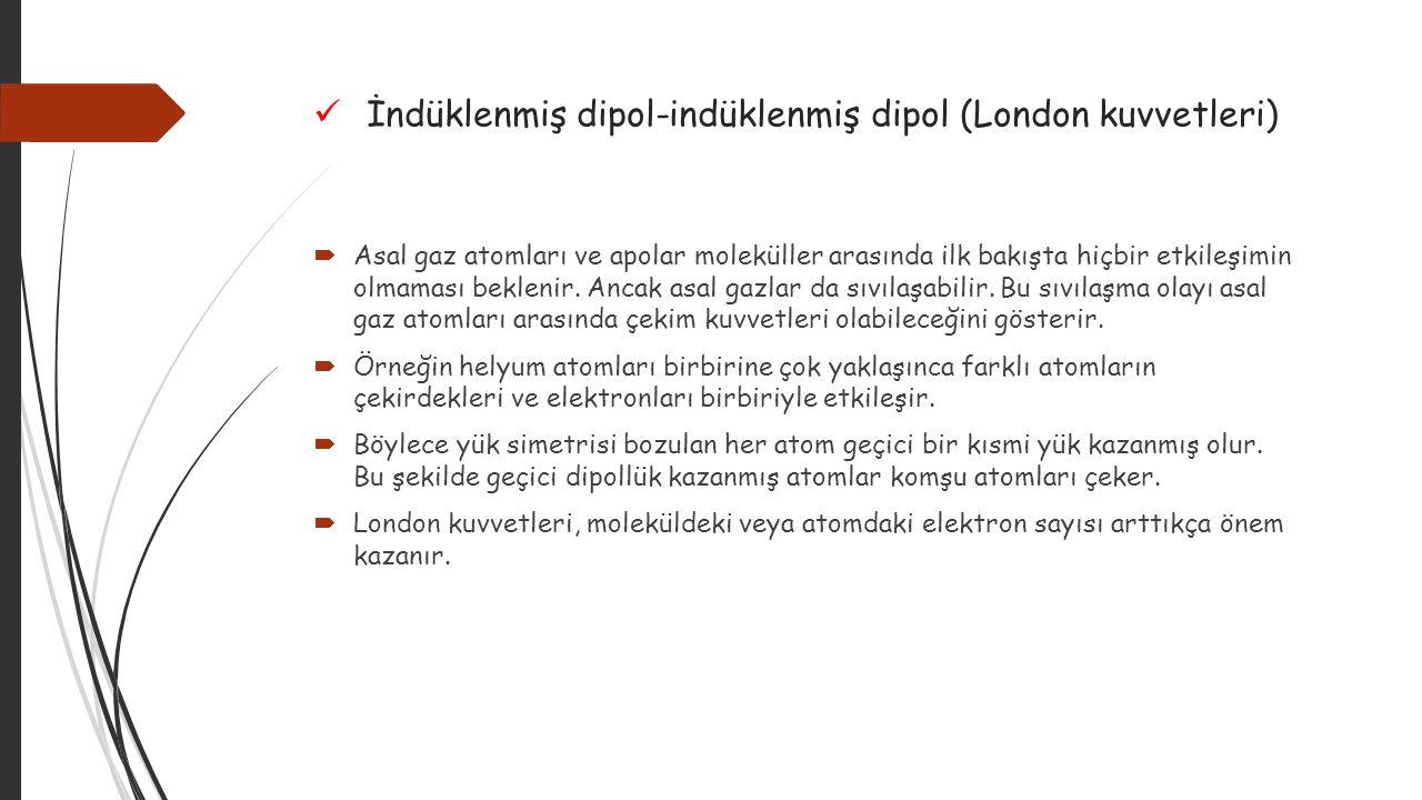 İndüklenmiş dipol-indüklenmiş dipol (London kuvvetleri)