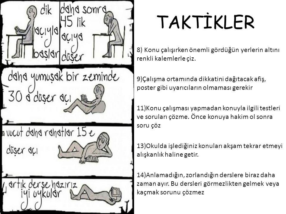TAKTİKLER