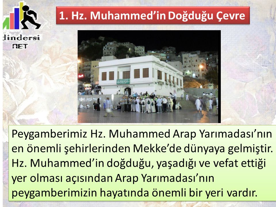 1. Hz. Muhammed'in Doğduğu Çevre