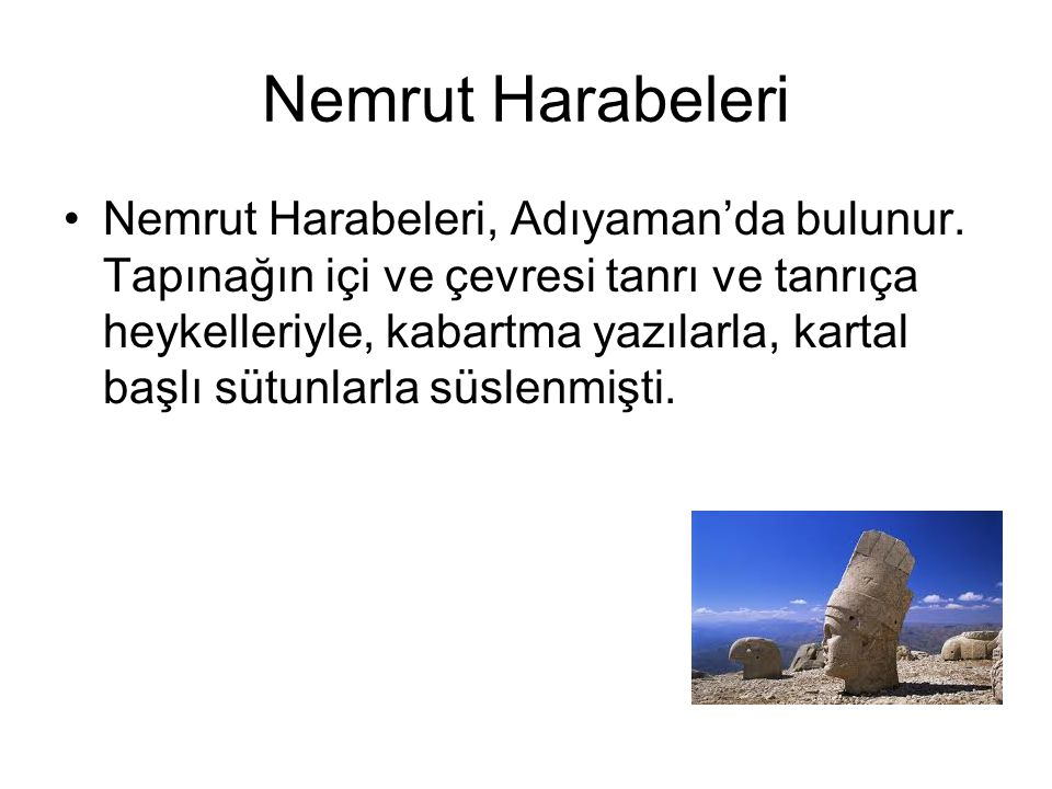 Nemrut Harabeleri