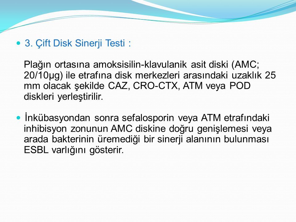 3. Çift Disk Sinerji Testi :