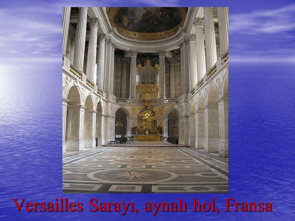 Versailles Sarayı, aynalı hol, Fransa