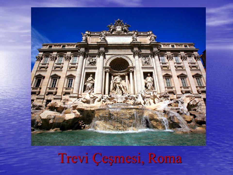 Trevi Çeşmesi, Roma