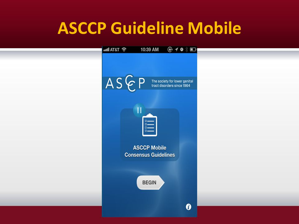 ASCCP Guideline Mobile