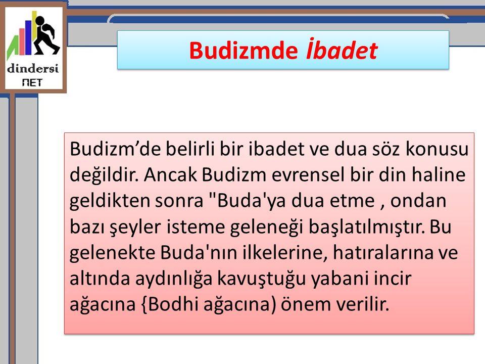 Budizmde İbadet