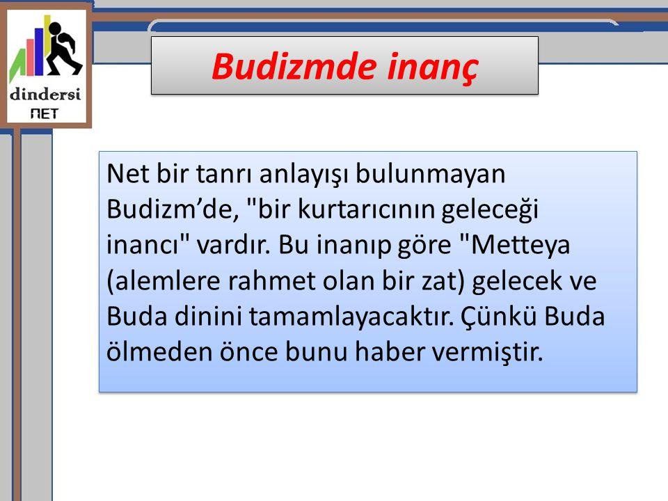 Budizmde inanç