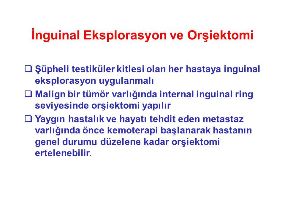İnguinal Eksplorasyon ve Orşiektomi