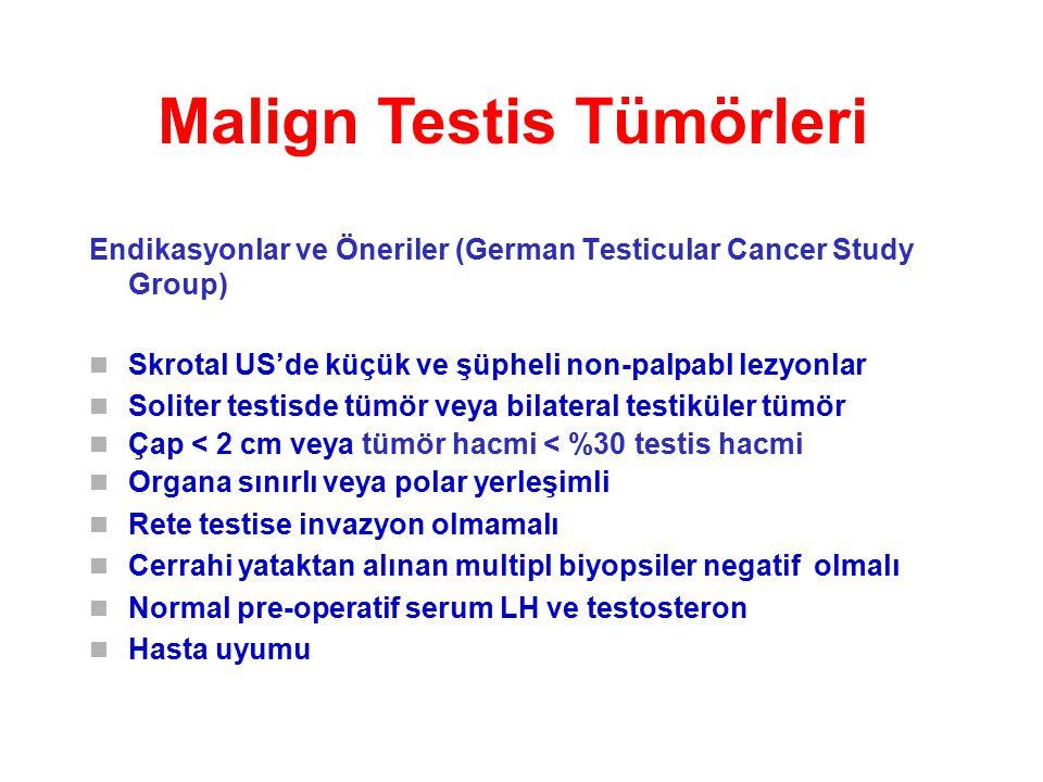 Malign Testis Tümörleri