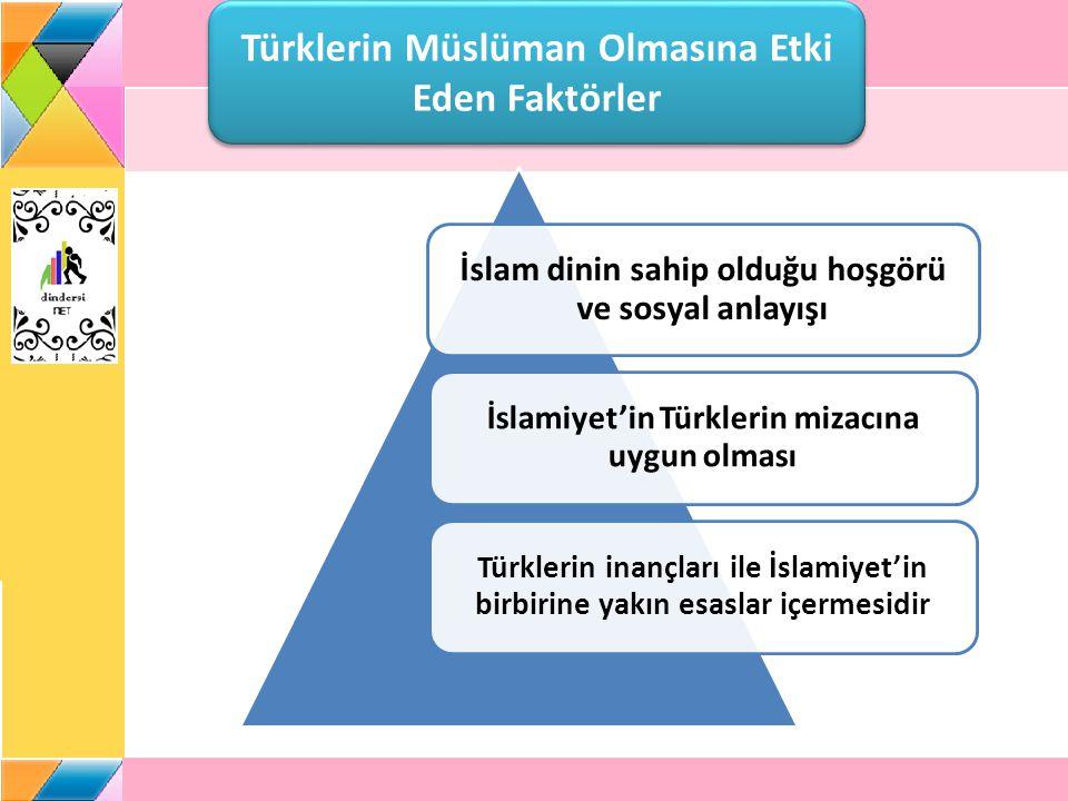 Türklerin Müslüman Olmasına Etki Eden Faktörler