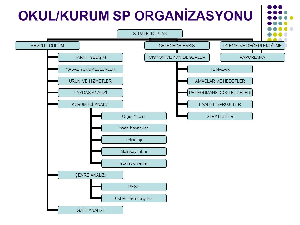OKUL/KURUM SP ORGANİZASYONU