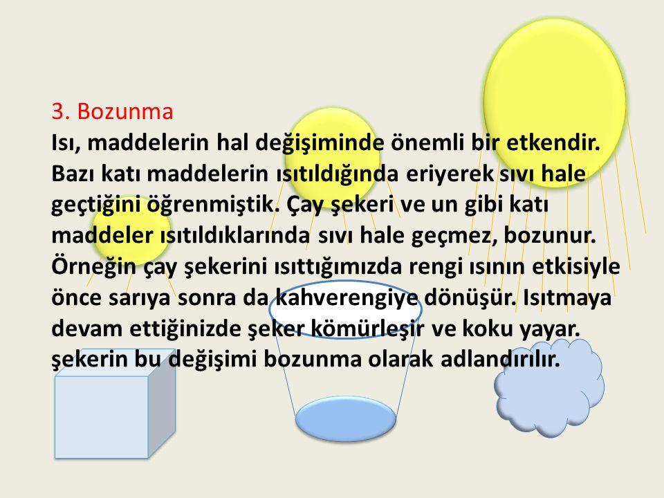 3. Bozunma