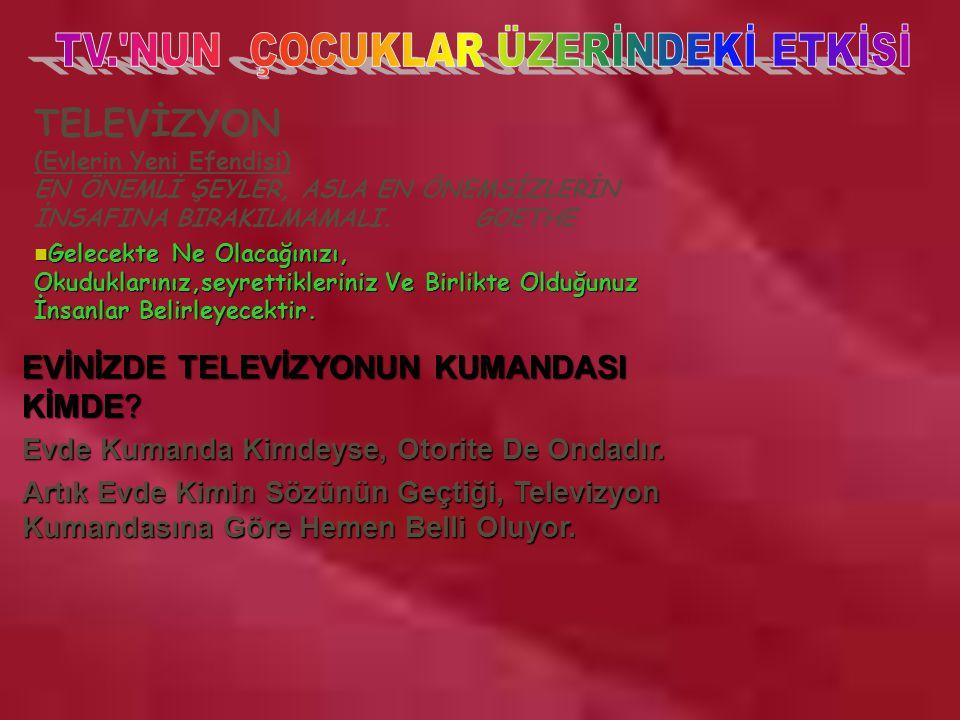 TV. NUN ÇOCUKLAR ÜZERİNDEKİ ETKİSİ