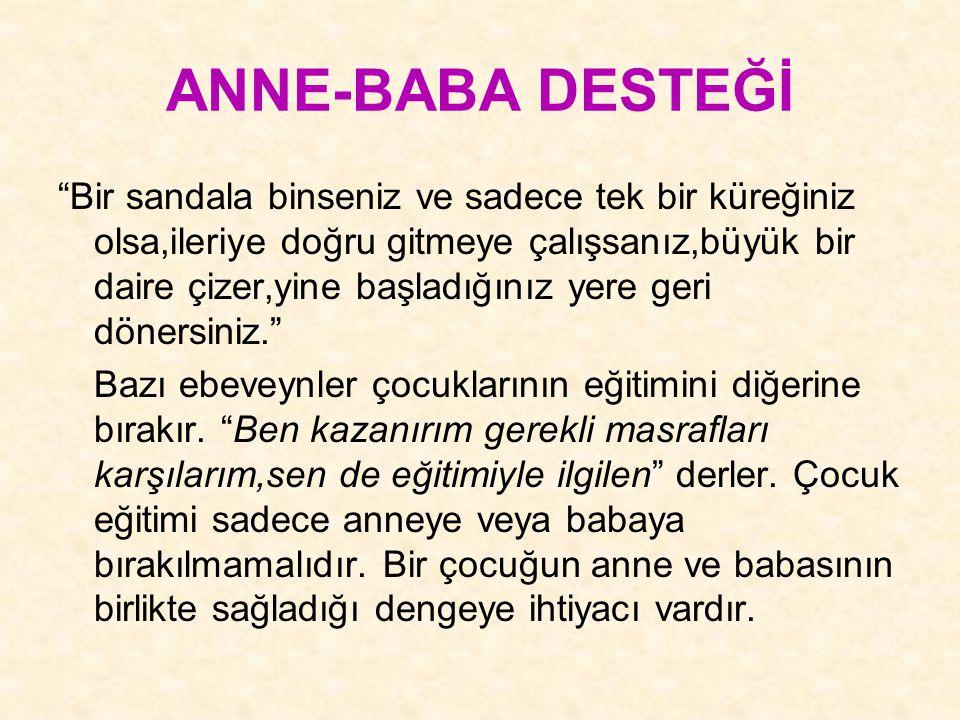 ANNE-BABA DESTEĞİ