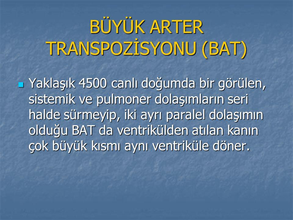 BÜYÜK ARTER TRANSPOZİSYONU (BAT)