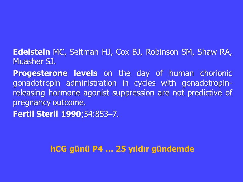 hCG günü P4 … 25 yıldır gündemde