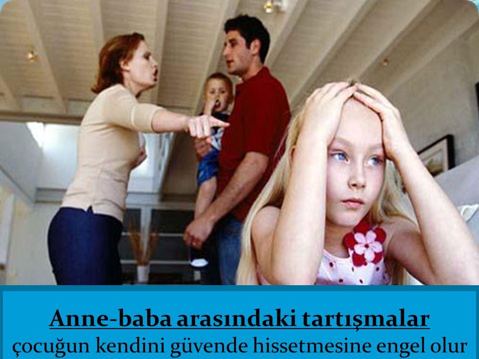 Anne-baba arasındaki tartışmalar