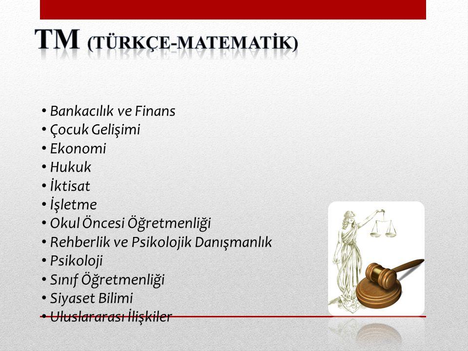 TM (Türkçe-MATEMATİK)