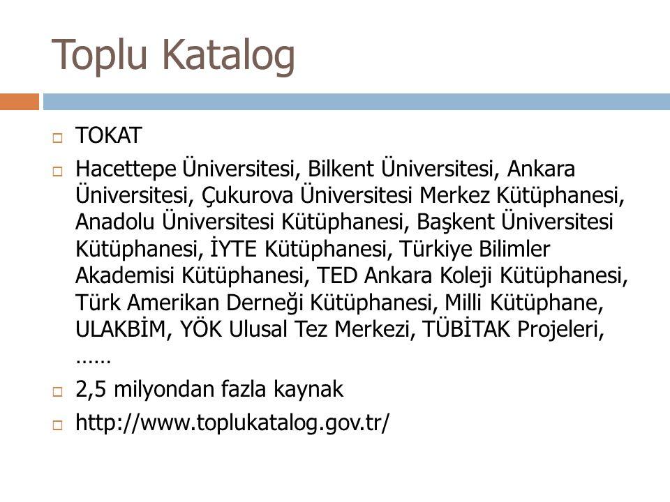 Toplu Katalog TOKAT.