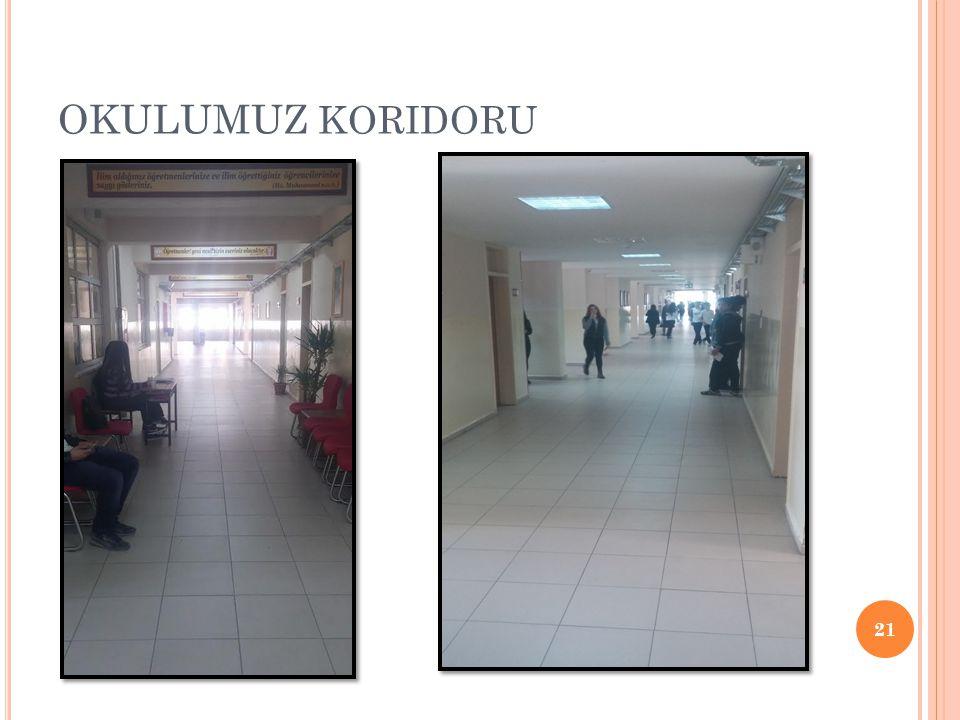 OKULUMUZ koridoru