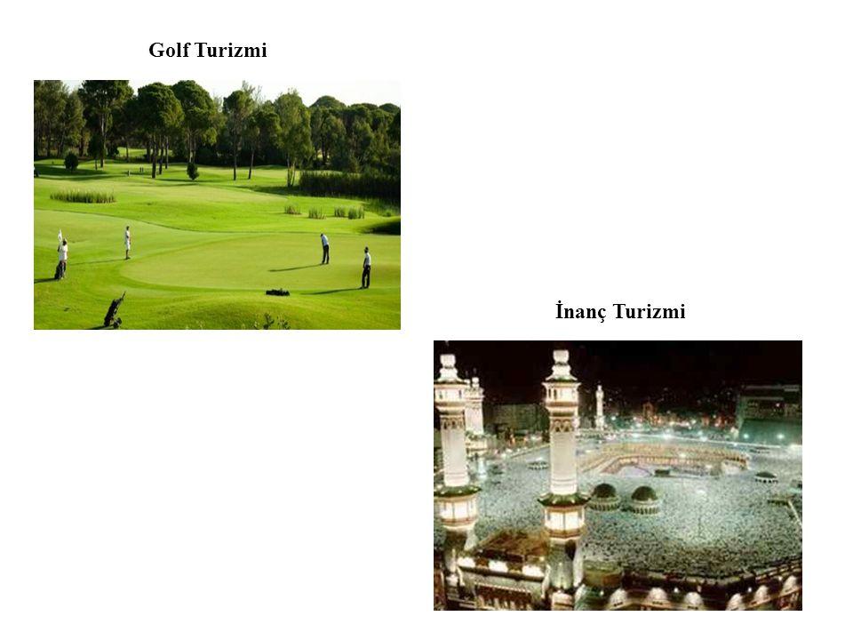 Golf Turizmi İnanç Turizmi