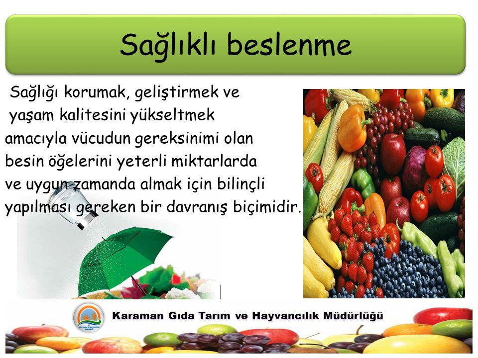 Karaman Gıda Tarım ve Hayvancılık Müdürlüğü