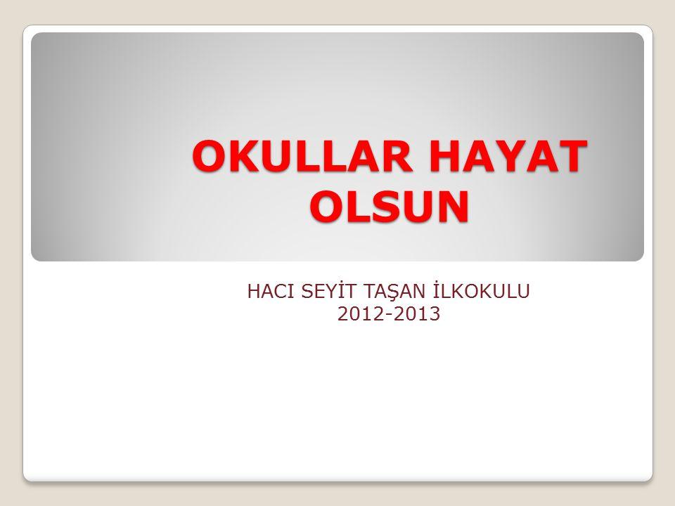 HACI SEYİT TAŞAN İLKOKULU 2012-2013