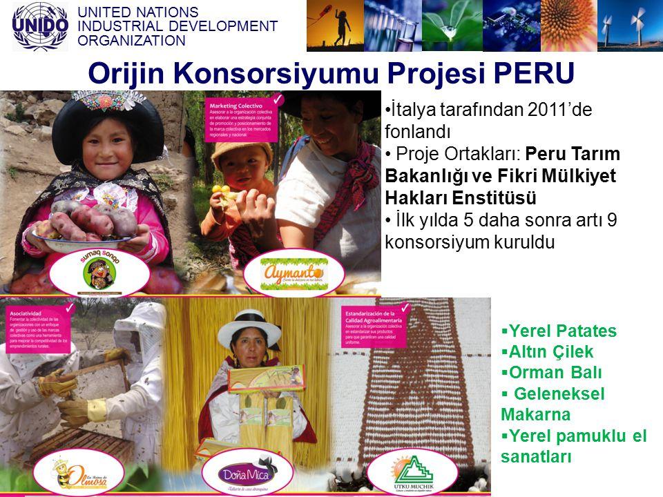 Orijin Konsorsiyumu Projesi PERU