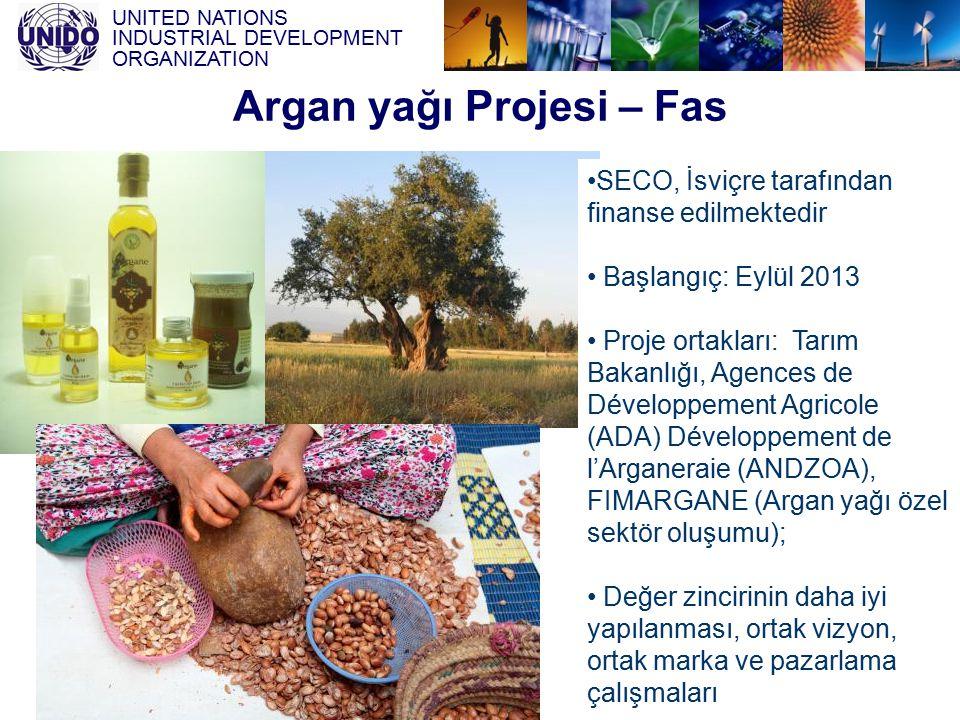 Argan yağı Projesi – Fas