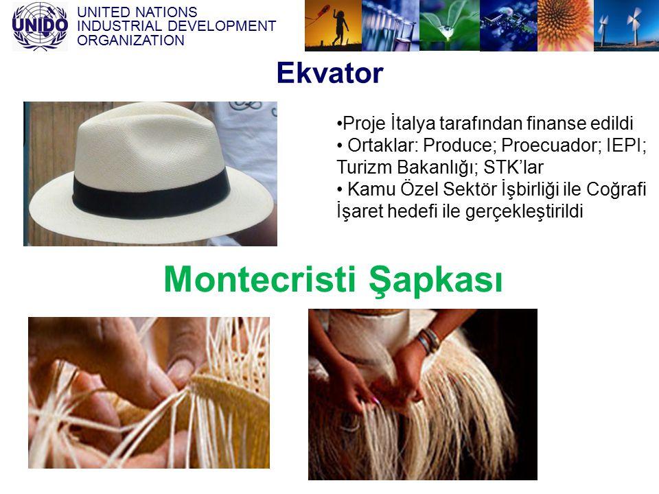 Montecristi Şapkası Ekvator Proje İtalya tarafından finanse edildi