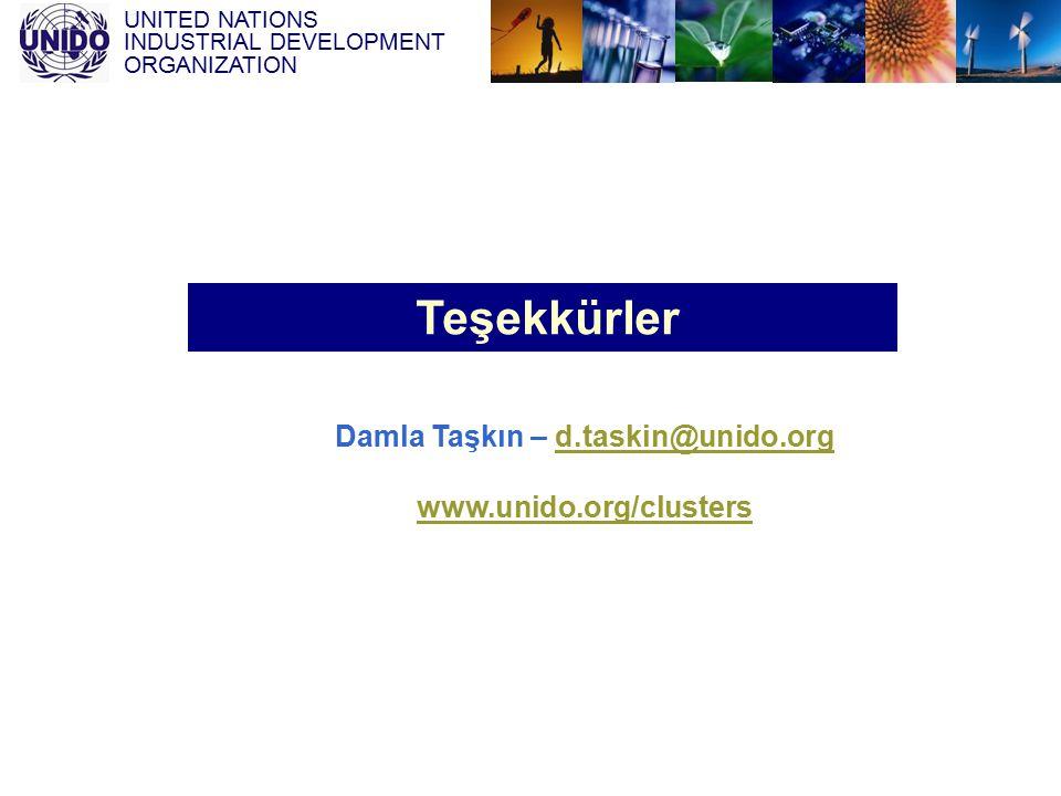 Damla Taşkın – d.taskin@unido.org