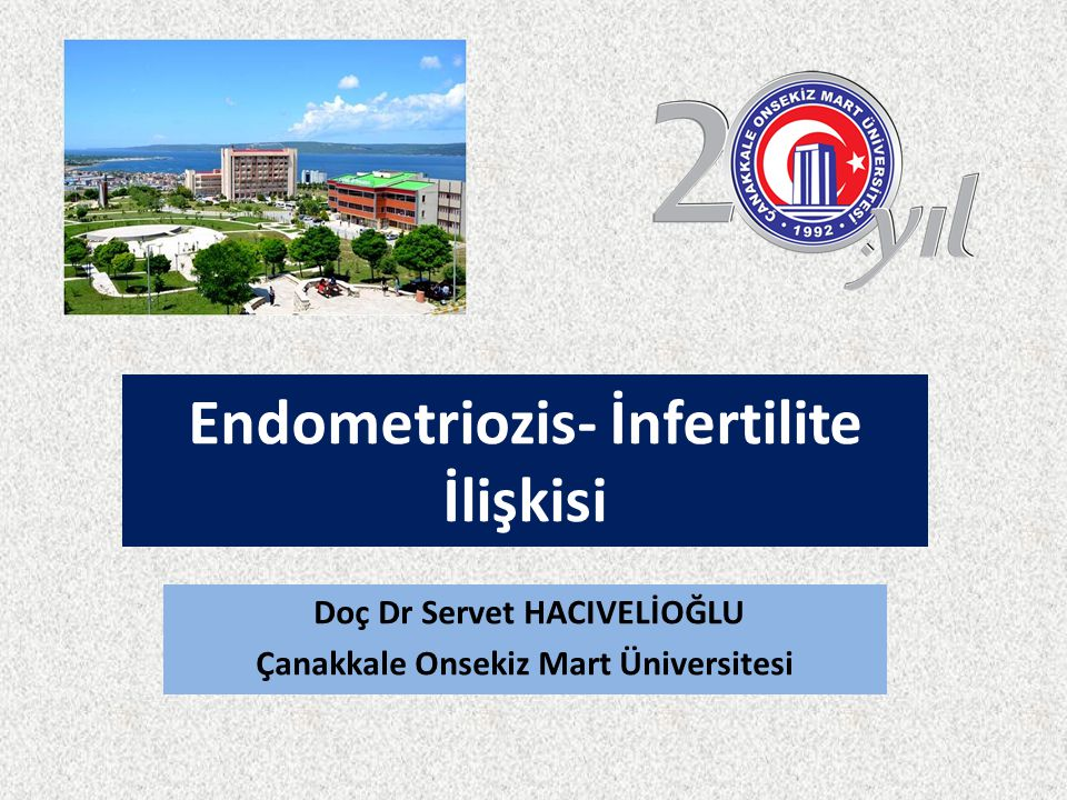 Endometriozis- İnfertilite İlişkisi