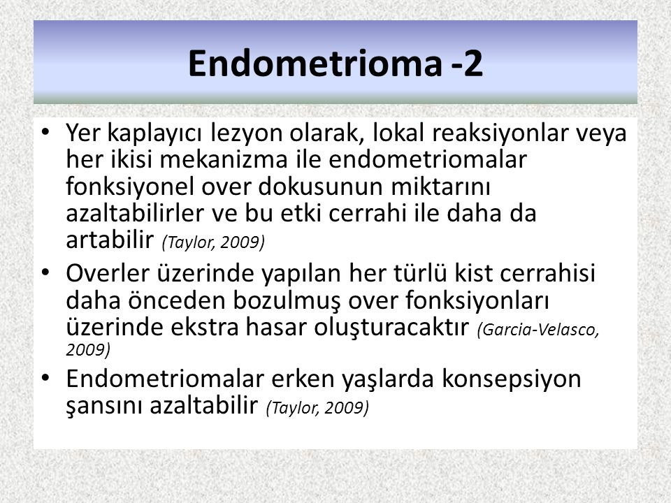 Endometrioma -2