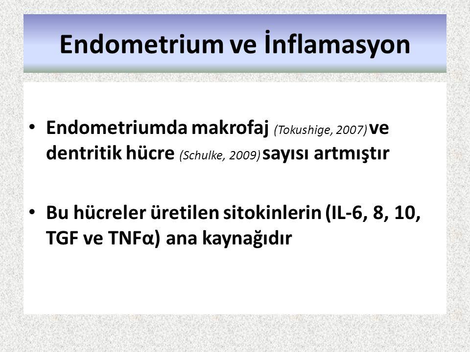Endometrium ve İnflamasyon