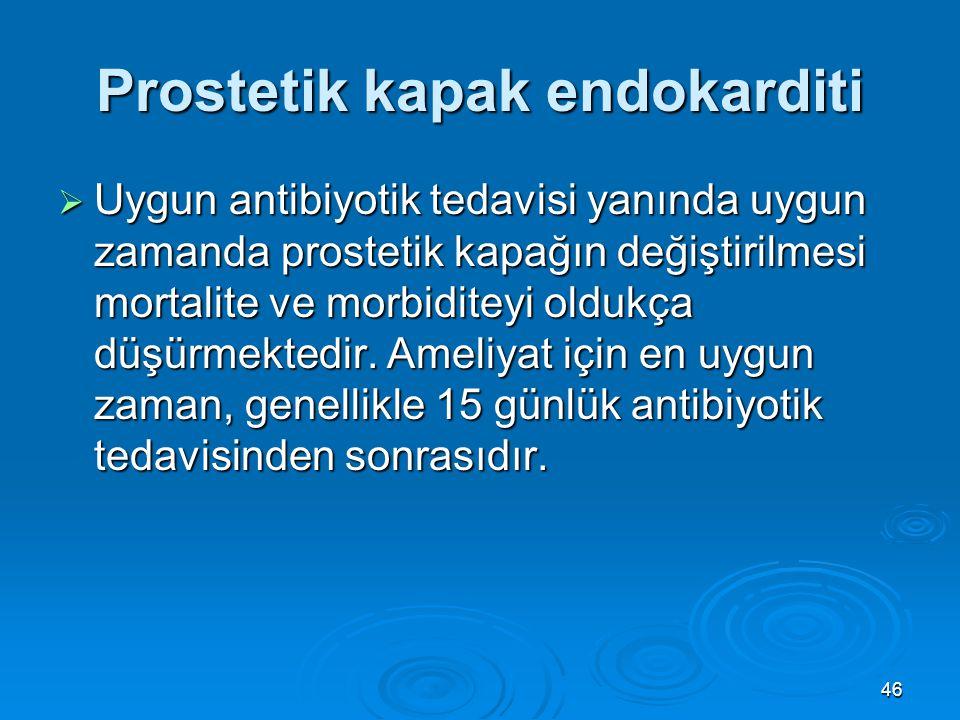 Prostetik kapak endokarditi