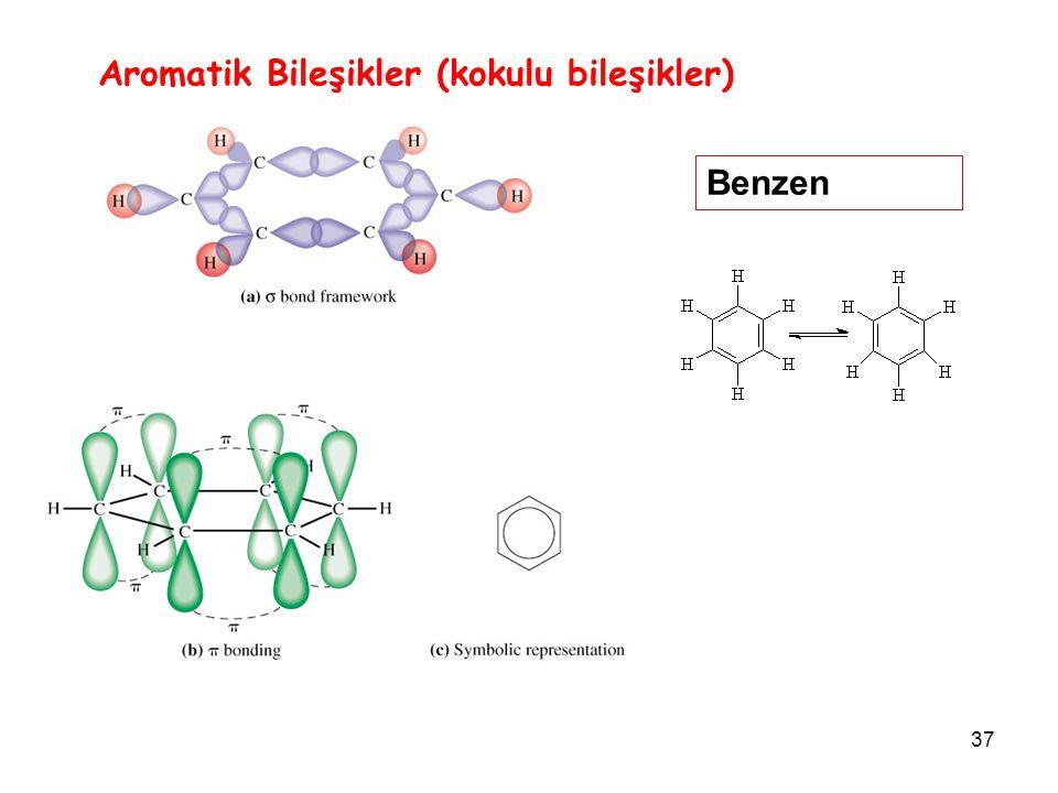 Aromatik Bileşikler (kokulu bileşikler)