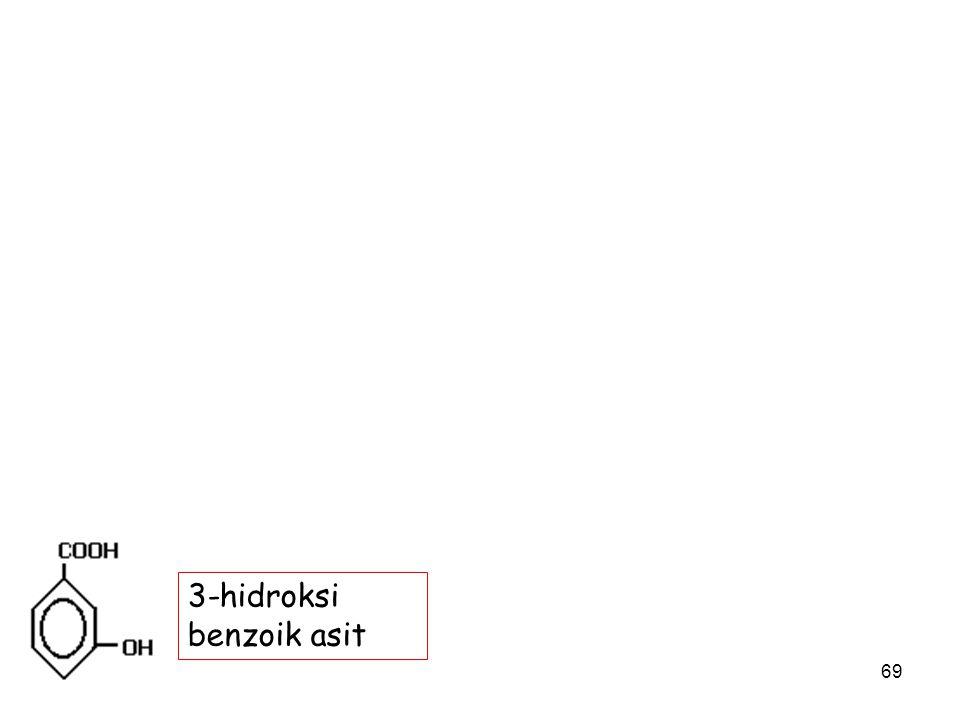 3-hidroksi benzoik asit