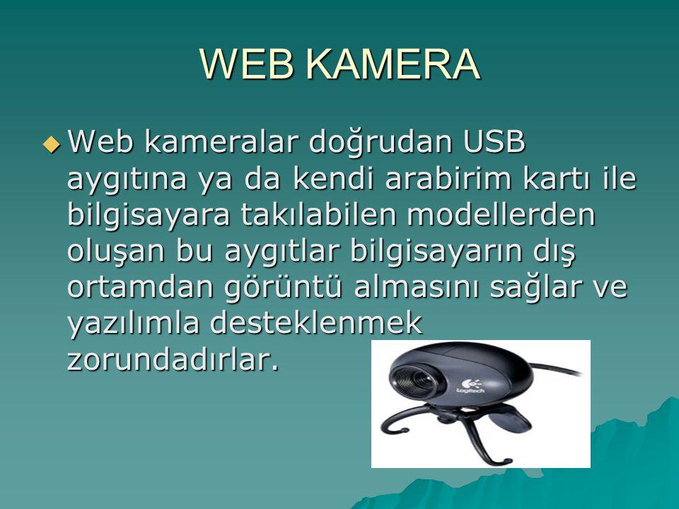 WEB KAMERA