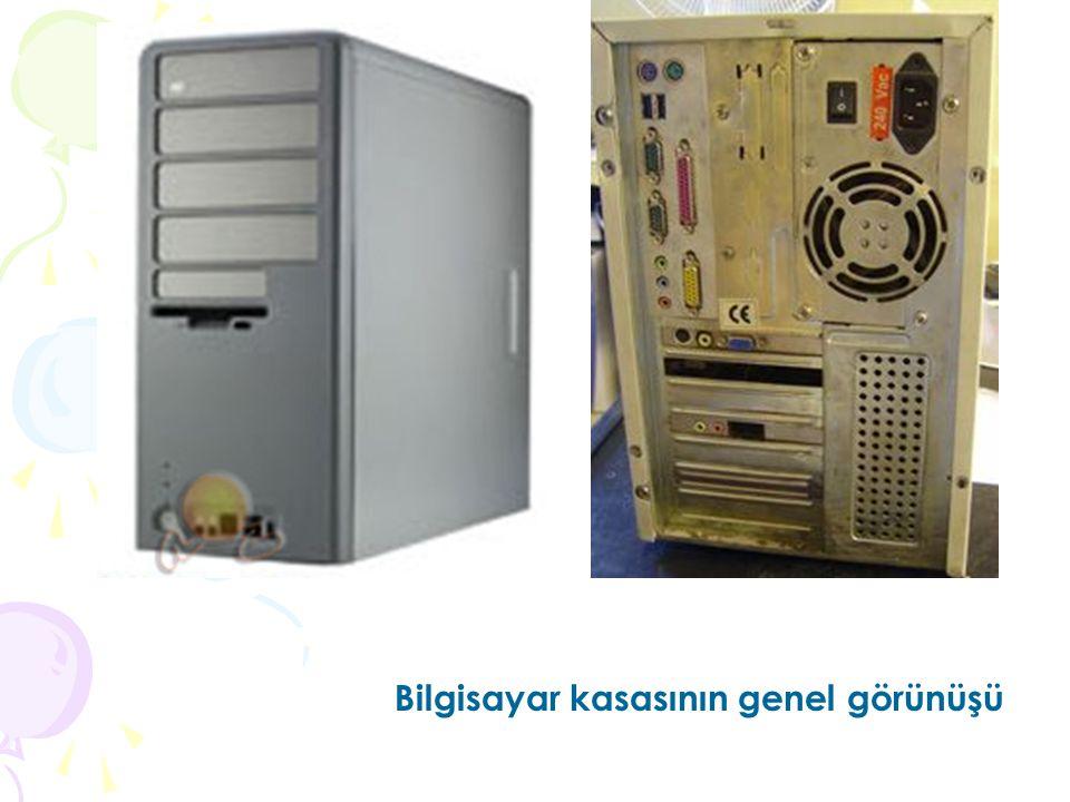 Bilgisayar kasasının genel görünüşü