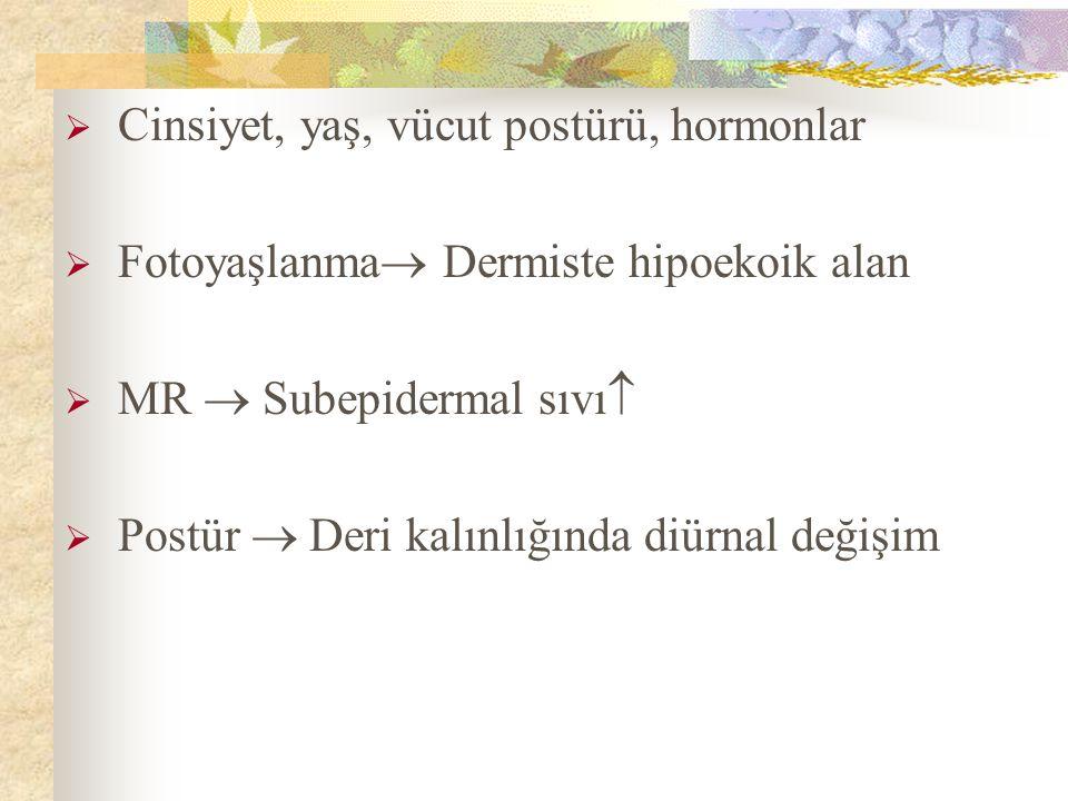 Cinsiyet, yaş, vücut postürü, hormonlar