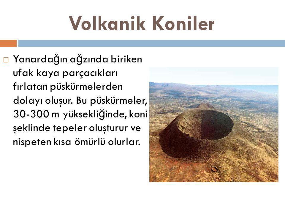 Volkanik Koniler