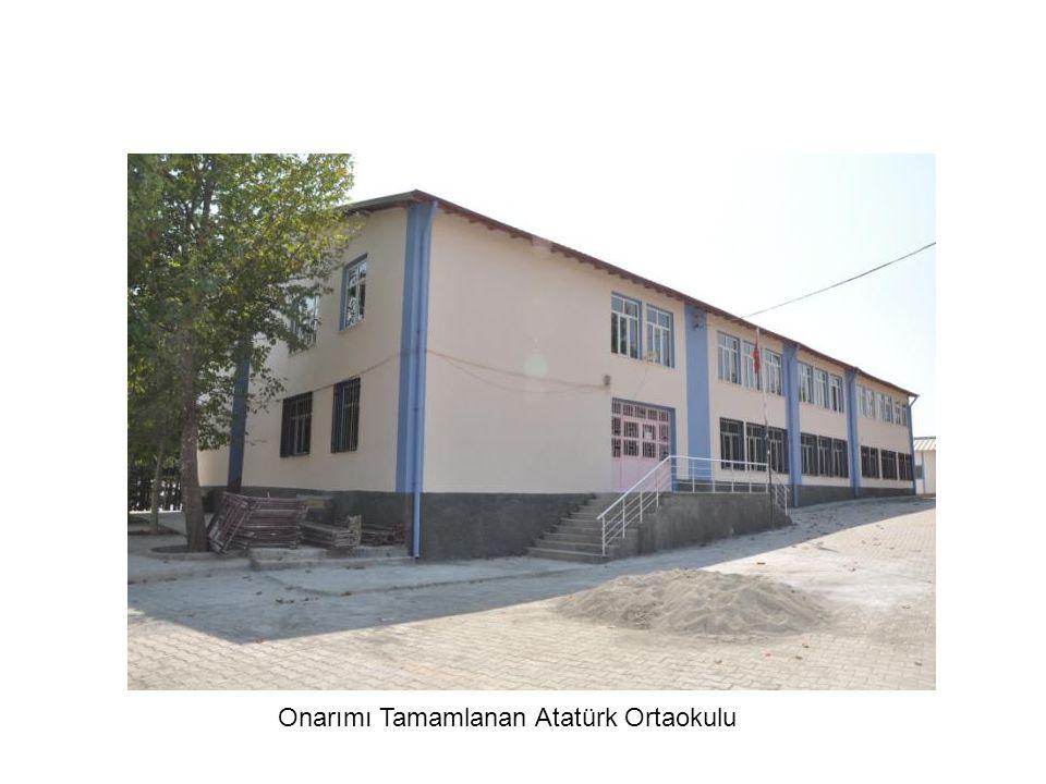 Onarımı Tamamlanan Atatürk Ortaokulu