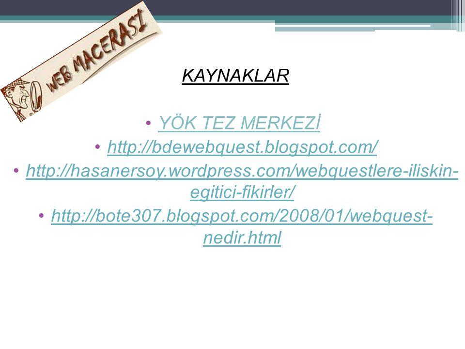 http://bote307.blogspot.com/2008/01/webquest- nedir.html
