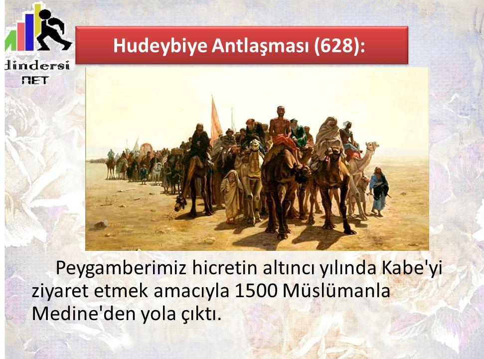 Hudeybiye Antlaşması (628):