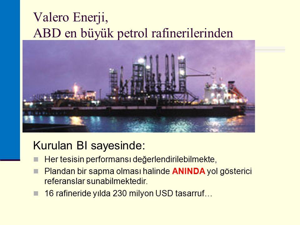 Valero Enerji, ABD en büyük petrol rafinerilerinden