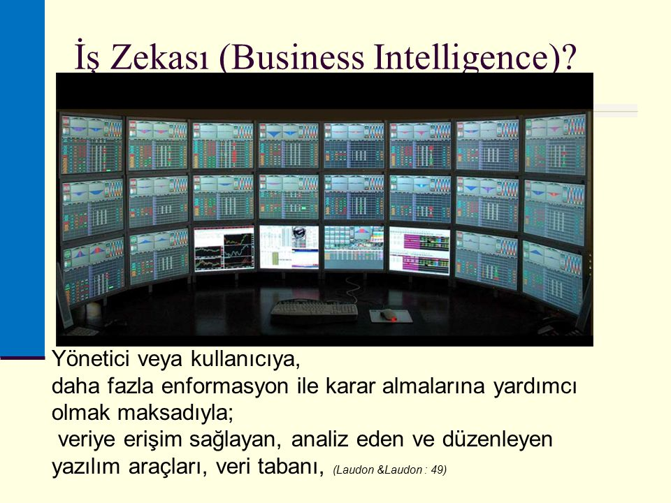 İş Zekası (Business Intelligence)